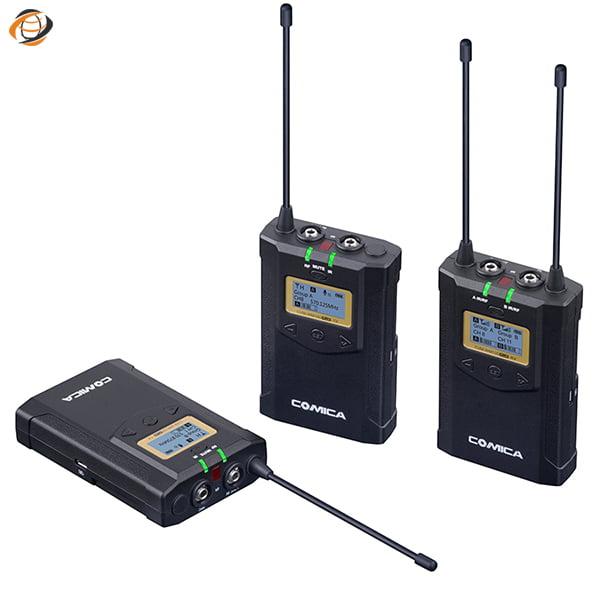 ست میکروفون وایرلس کامیکا CVM-WM100 PLUS