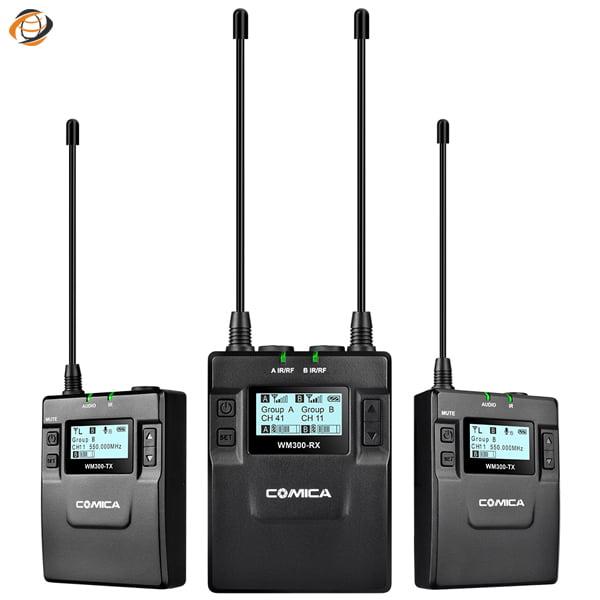 ست میکروفون وایرلس کامیکا CVM-WM300A