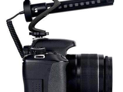 نحوه اتصال میکروفون به دوربین فیلم برداری
