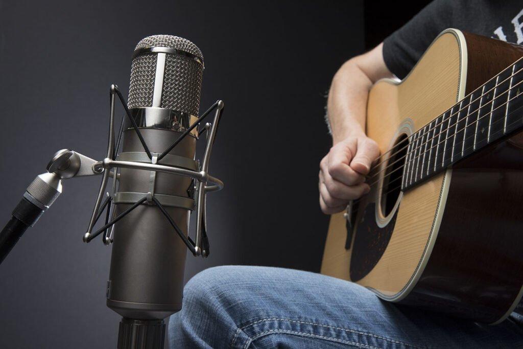 میکروفون گذاری گیتار