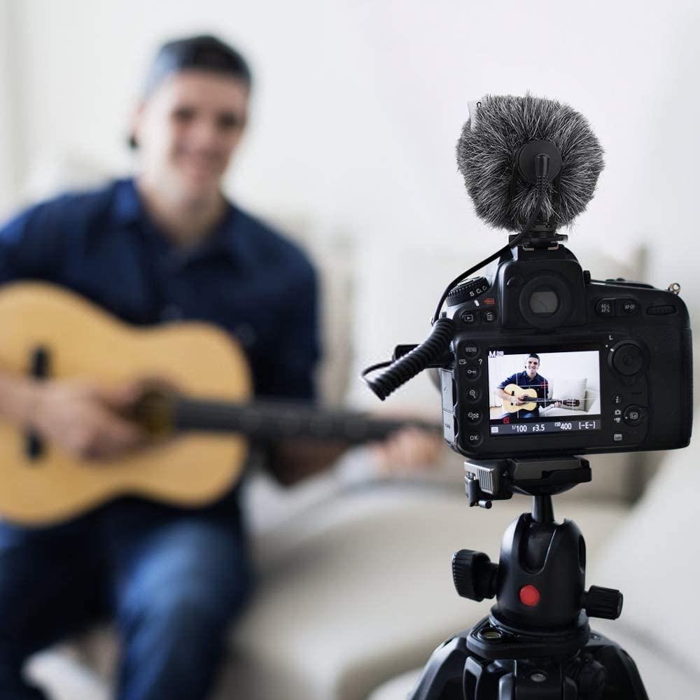 میکروفون شاتگان برای ضبط صدای شفا